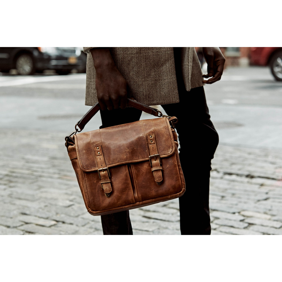 ONA The Prince Street [antique cognac leather]