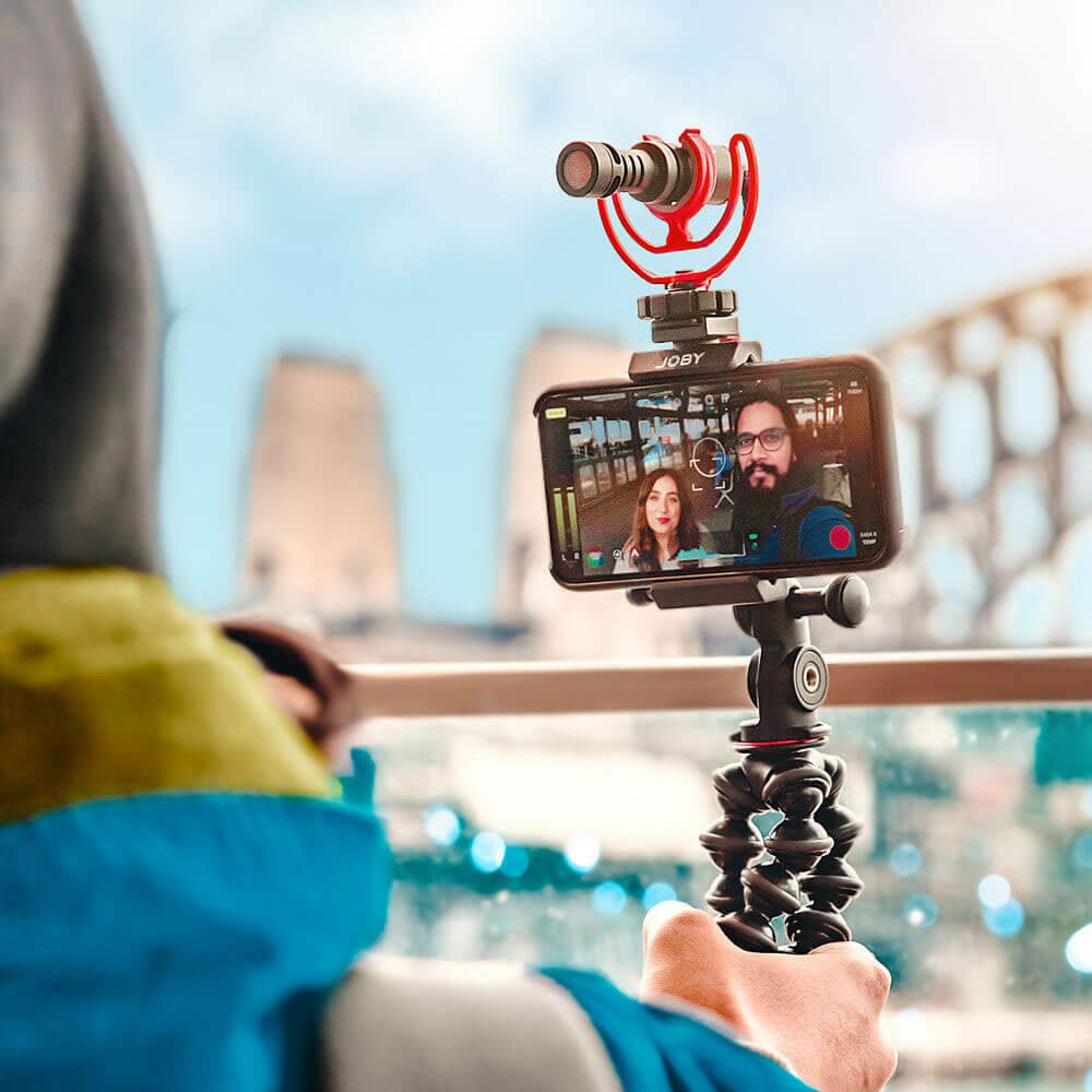 RODE 105559 VideoMicro - compact on-camera microphone with Rycote Lyre shock mount