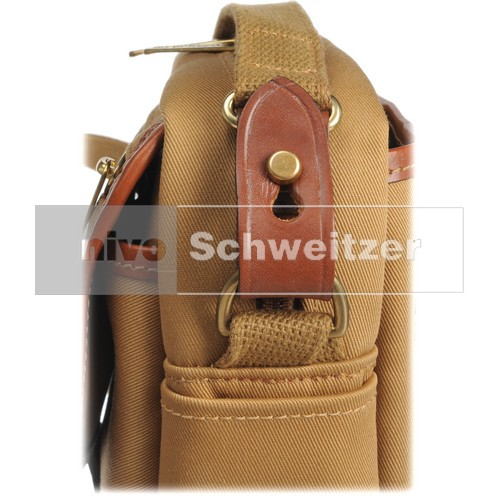 BILLINGHAM Stowaway Pola [traditional khaki canvas/tan leather]