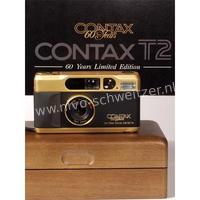 Contax T2 GOLD 60 Years Limited Edition.