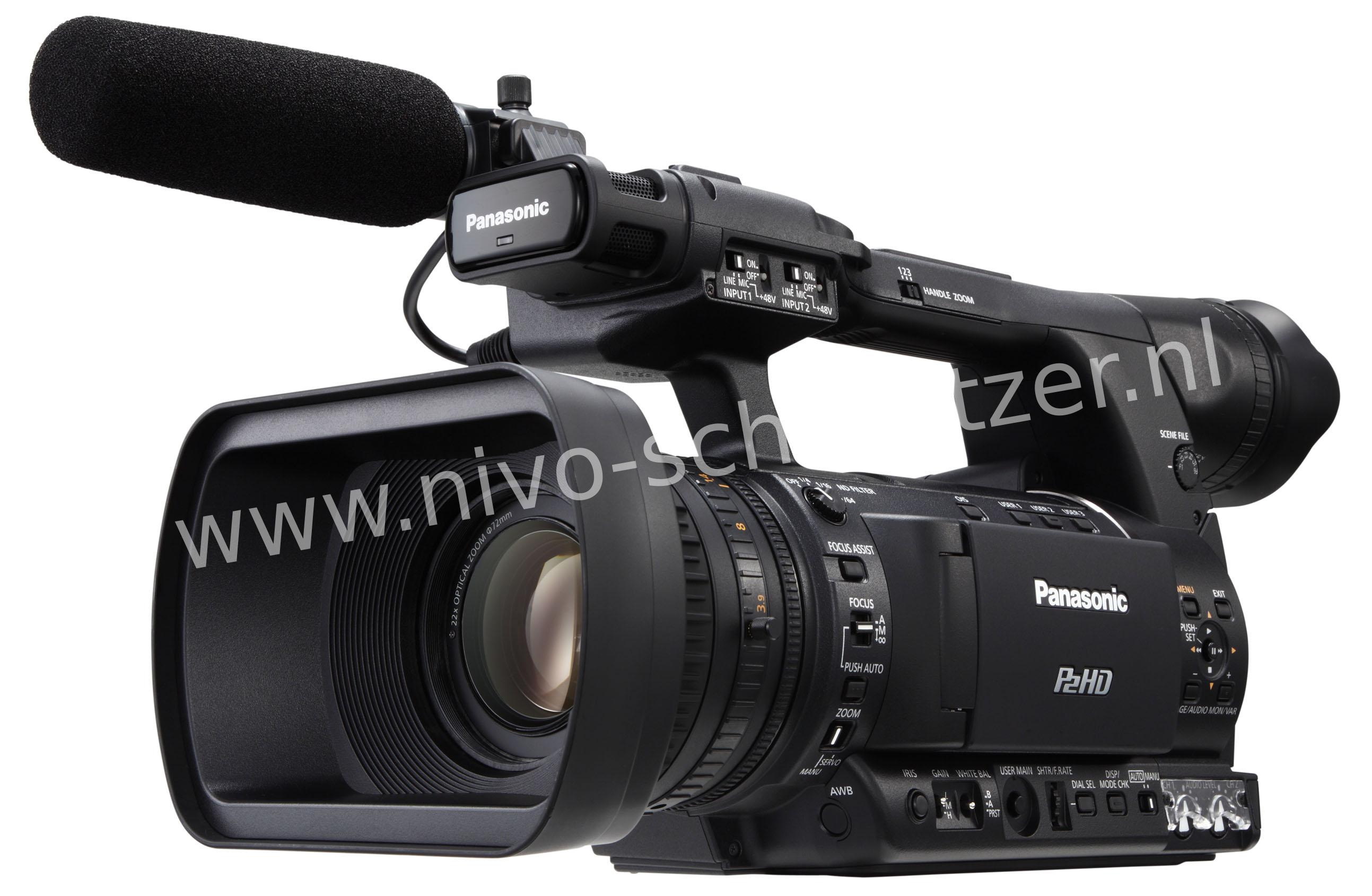 PANASONIC AG-HPX250EJ 1/3 2.2MP Full HD 10-Bit 4:2:2 P2, Progressive MLT MOS Sensor  HD-SDI/HDMI/DV