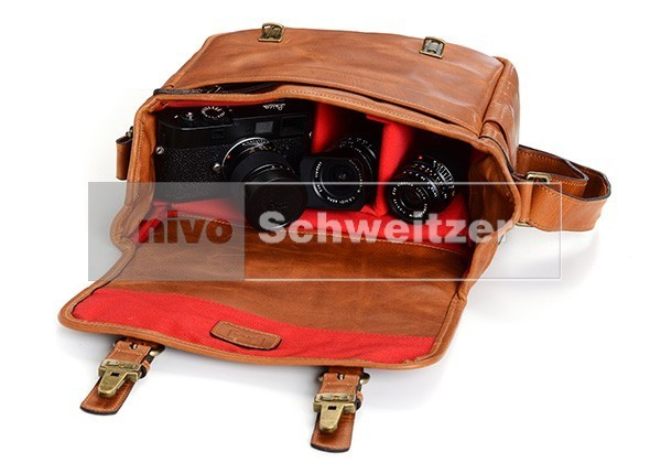 ONA Berlin [vintage bourbon] 100 year Leica anniversary limited edition   [nml]