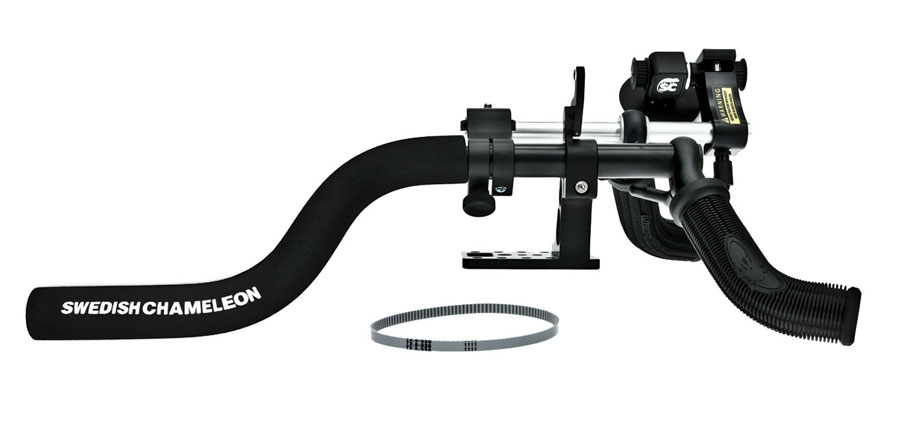 .WSP Swedish Chameleon SC3 Small, stabiel camera support met FollowFocus, statief plaat en handles