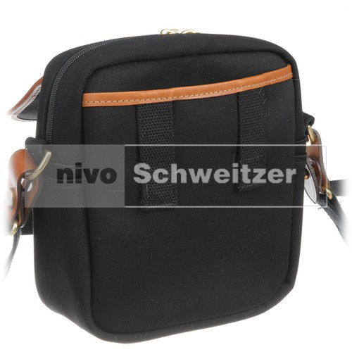 BILLINGHAM Stowaway Pola [traditional black canvas/tan leather]