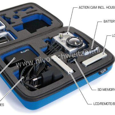 SP POV case GoPro-Edition 3.0 small, blue N.M.L.