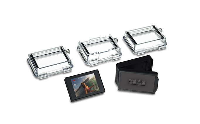 GoPro LCD Touch BacPac, touchscreen LCD Scherm voor  Hero3  cameras , (Hero2 nwe firmware)