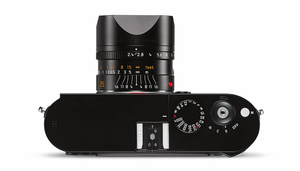 LEICA 11671 Summarit-M 35mm/2.4 ASPH. [black anodized finish]   E46