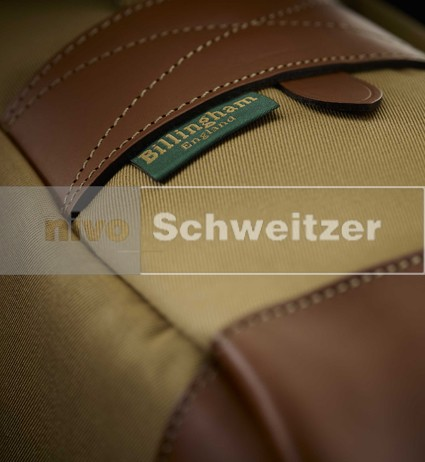 BILLINGHAM Photo Eventer [traditional khaki canvas/tan leather]