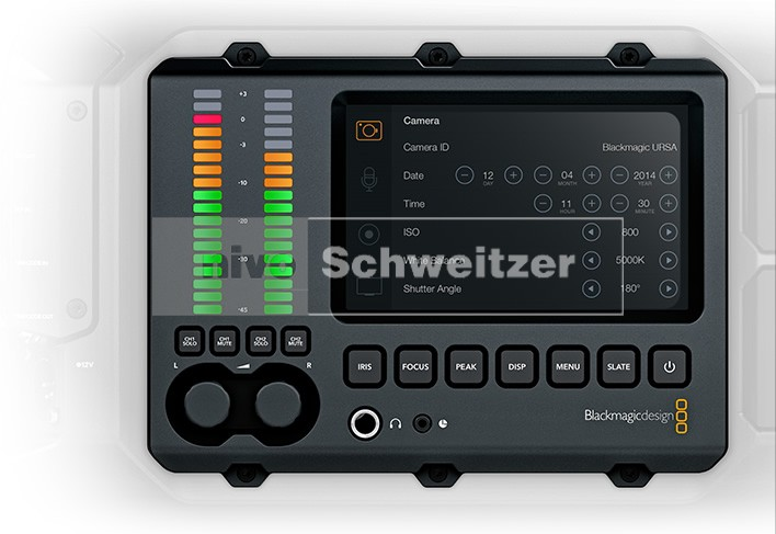 BLACKMAGIC URSA Body zonder sensor, voor elke HDMI camera. incl. DaVinci software
