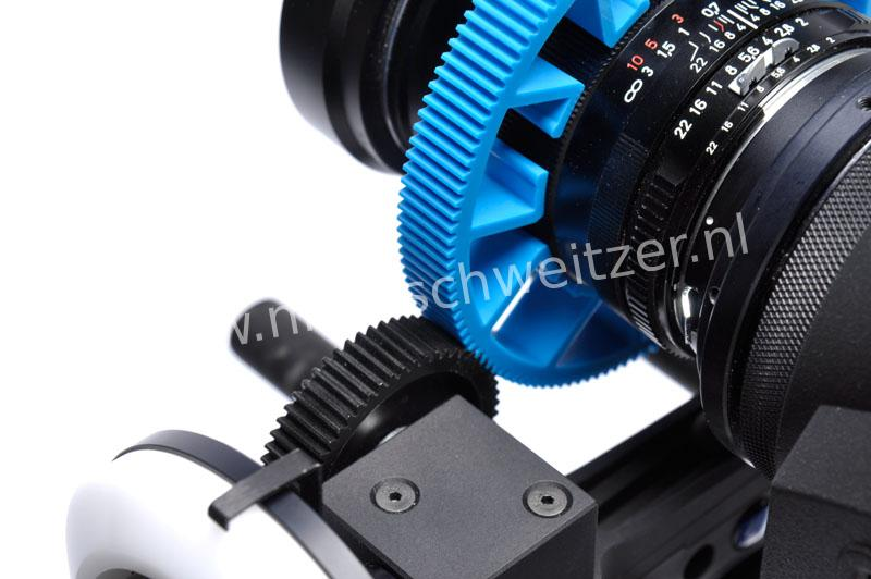 Redrock Micro 3-200-0016 microLensGear BLUE Size C Mod .8 32 Pitch