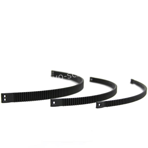 Half Inch Rails Mini Zip Tie Focus Gear Breedte: 8.50 mm min 42mm tot max 70mm doorsnee lens