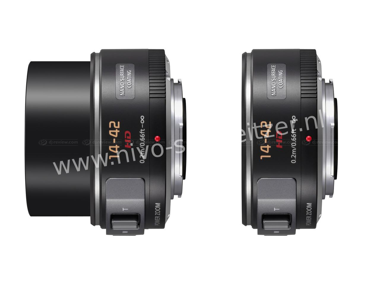 PANASONIC Lumix G X Vario  PZ 14-42mm  F3.5-5.6 ASPH.  POWER OIS MFT, zwart   E37