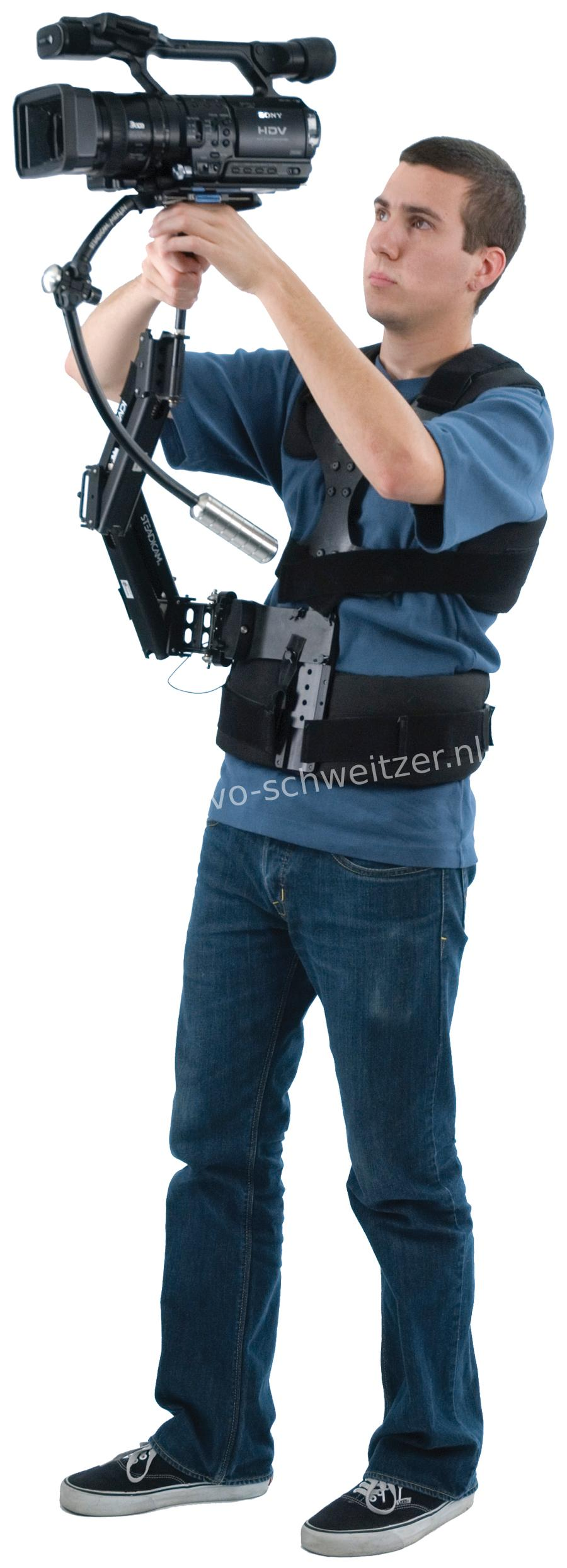 STEADICAM Merlin v2 d-Held Stabilizer (optioneel verkrijgbaar arm, vest)