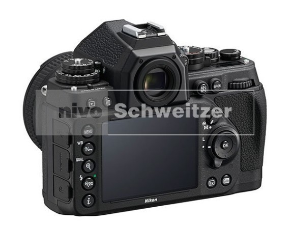 NIKON Df kit, zwart [body + AF-S 50mm/1.8G special edition]   [nml]