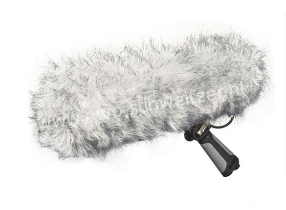 RODE 103879 blimp suspension windshield system with handheld Rycote lyre
