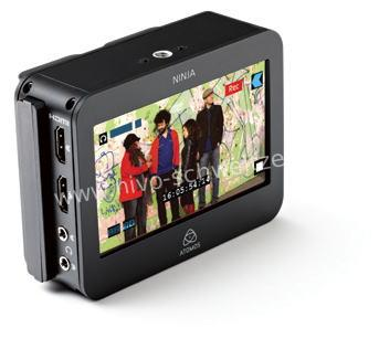 ATOMOS 103748 Ninja 2 HDMI HDrecorder ProRes 10 bit,2x HD-SSD Caddy, accu, lader, HDD/SSD dock