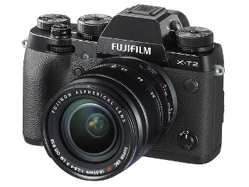 FUJI Fujifilm X-T2 kit [X-T2 body, zwart + XF18-55mm/2.8-4 R OIS]