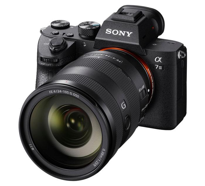 SONY Alpha A7 III kit [body + FE 24-105mm/3.5-5.6G]