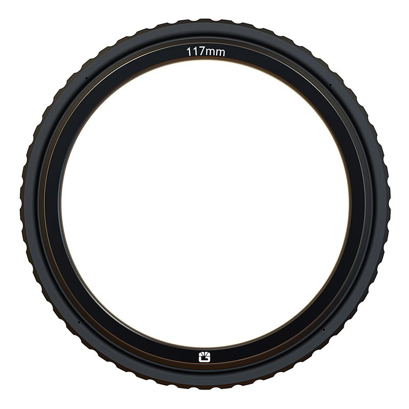 Bright Tangerine B1250.1060 143mm Rubber Donut-117mm HJ21  w.Retaining Ring for 138mm Round Filters