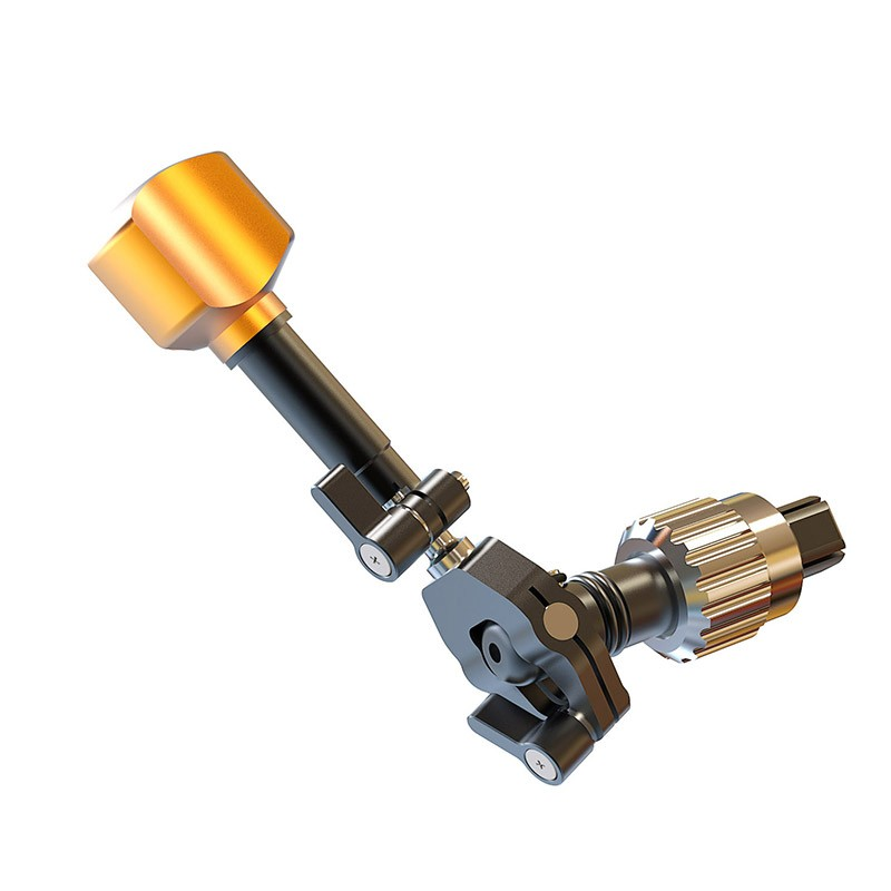 BRIGHT TANGERINE B2000.1007 4D Speed Crank w.Zero backlash Coupling