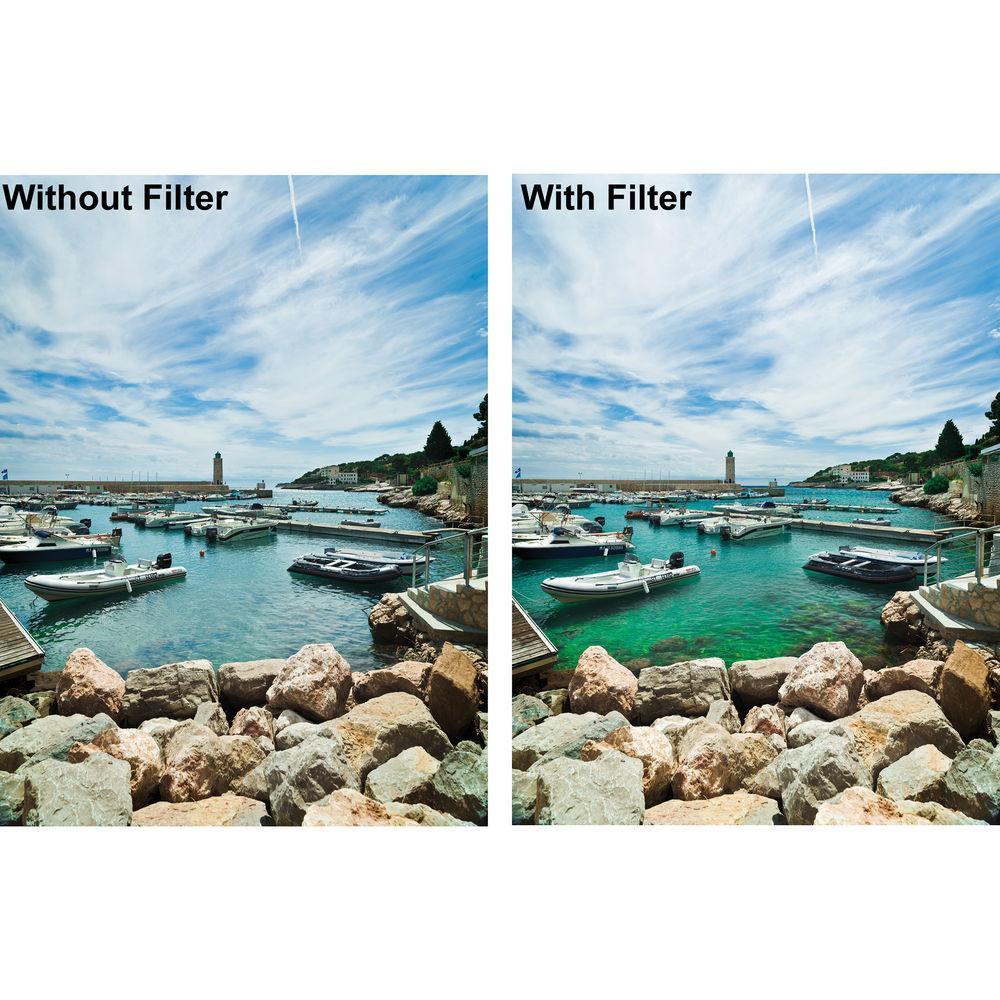 HELIOPAN circulair polarisatiefilter > High Transmission slim-version > 58x0,75