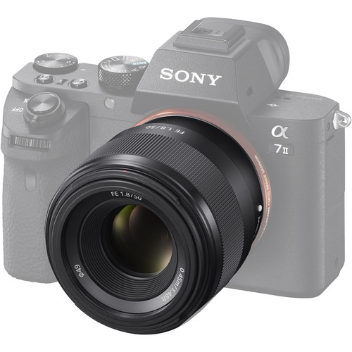 SONY FE 50mm/1.8 FF [full-frame E-mount]   E49